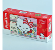 "Пазлы 108 элементов А4 ""Hello Kitty"" 108ПЗ4_22706 Hatber"