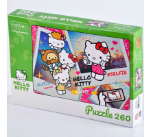 "Пазлы 260 элементов А4 ""ЕСО.Hello Kitty"" 260ПЗ4_22713 Hatber"