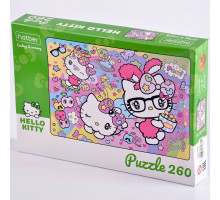 "Пазлы 260 элементов А4 ""ЕСО.Hello Kitty"" 260ПЗ4_22714 Hatber"