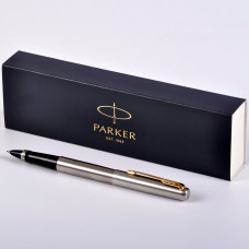Ручка Parker Jotter Stainless Steel GT роллер 2089227