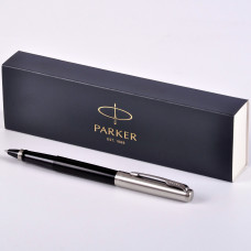 Ручка Parker Jotter Black CT роллер R2096907