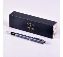 Ручка Parker IM Blue Grey CT роллер 1931662