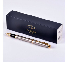 Ручка Parker IM Brushed Metal GT роллер 1931663