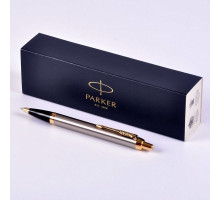 Ручка Parker IM Brushed Metal GT шариковая 1931670