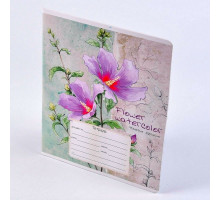 "Тетрадь 12л линия ""Flower Watercolor"" 1203-33334"